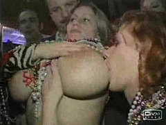 Gorgeous Melons, Mardi Gras, sex Party, flash, Public Nudity, Huge Natural Boobs, Perfect Body