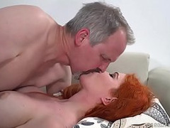 creampies, Lady Double Fuck, Grandpa, Female Dp, Perfect Body Masturbation