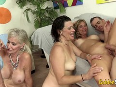 Granny Cougar, Anal Group Sex, sex Party, Perfect Body Hd
