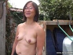 gang Bang, Gilf Blowjob, gilf, Granny In Gangbang