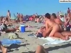 Beach, Topless Whore, nudes