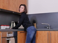 naked Housewife, Kitchen Fuck, Perfect Body Fuck, Table Fuck