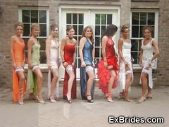 Amateur Bridesmaid, Females Flashing, Real Hidden Cam