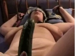 Banging, Cucumber Anal, Hot Wife, Perfect Body Amateur, Real Cheating Wife