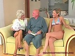 Older Cunts, Birthday Surprise Orgy, Grandpa Anal, Perfect Body Anal Fuck