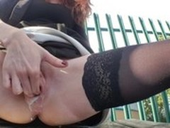 Perfect Body Anal Fuck, public Sex, Flasher Fucking, squirting