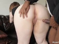 Ebony Girl, Black and White, Brunette, Cutie Fucked Doggystyle, fuck Videos, Perfect Body Anal Fuck, White Teen