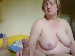blondes, Glasses, mature Mom, Perfect Body Amateur, Short Hair Solo, Wanking