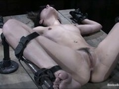 BDSM, torture, Huge Dildo, Rough, Fetish, Cum in Throat, Humiliation, Kinky Anal, Anal Masturbation, Amateur Milf Perfect Body, Sex Slave, huge Toys, Riding Dildo, Watching Wife
