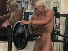 Muscle Sex, Sluts Without Bra, Gymnast, Nude