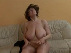 Cum on Her Tits, Gorgeous Breast, Dating, fuck, Beautiful Lady, Mature Perfect Body, Real, Husband Watches Wife, Couple Fuck While Watching Porn