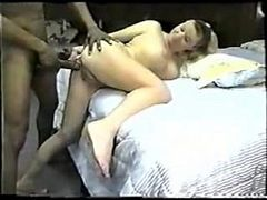 Mature Bbc Anal, Cuckold Couple, fucks, Hot Wife, Husband, Housewife, Blindfold, Perfect Booty