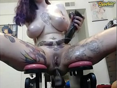 big Dick in Ass, Ass Dildos, Butt Drilling, Anal Dildo, Perfect Butt, sexy Babe, rides Cock, Dildo Chair, Big Toy, Huge Dildo Deep, Sex Machine, Cowgirl Riding, tattooed, Toys, Assfucking, Buttfucking, Perfect Ass, Perfect Body Masturbation