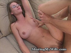 Cougar, Cuckold Couple, Cum in Throat, facials, Glasses, Hardcore Fuck, hardcore Sex, Hot MILF, Hot Wife, Milf, Squirt, Housewife, Hot Mom Son, Perfect Booty, Sperm Inside