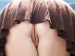 short Skirt, upskirts, Watching Wife, Masturbating While Watching Porn, Amateur Milf Perfect Body